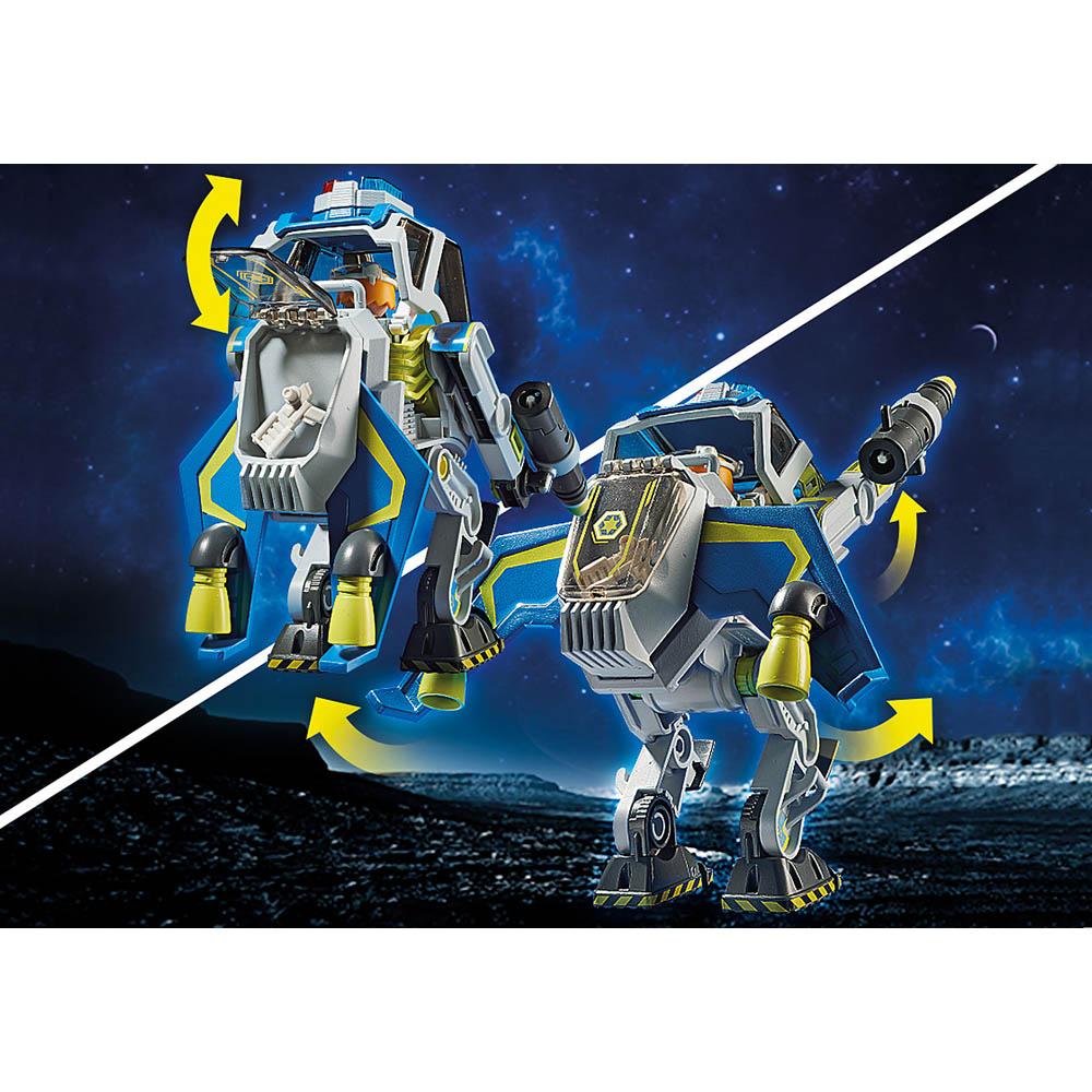 Playmobil - Robô Da Polícia Galáctica