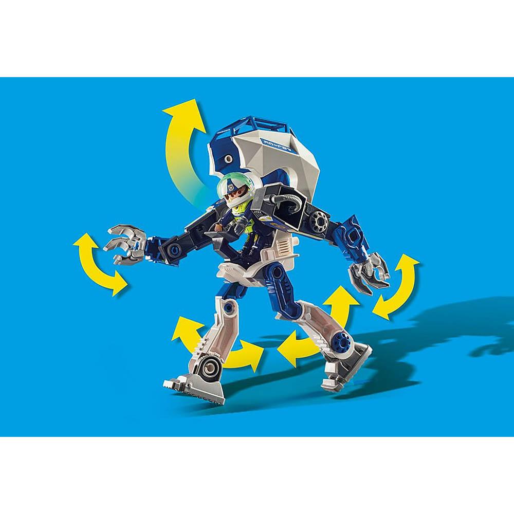 Playmobil - Robô De Operações Especiais Da Polícia