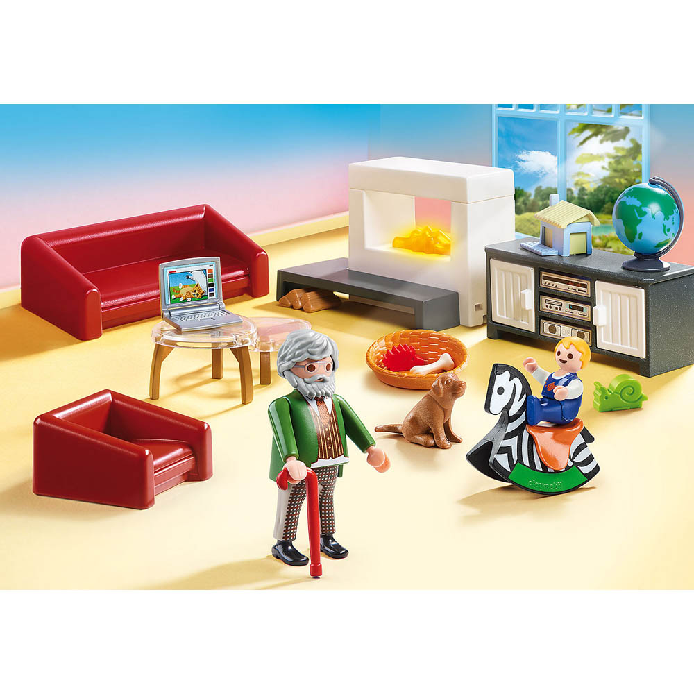 Playmobil - Sala De Estar Confortável