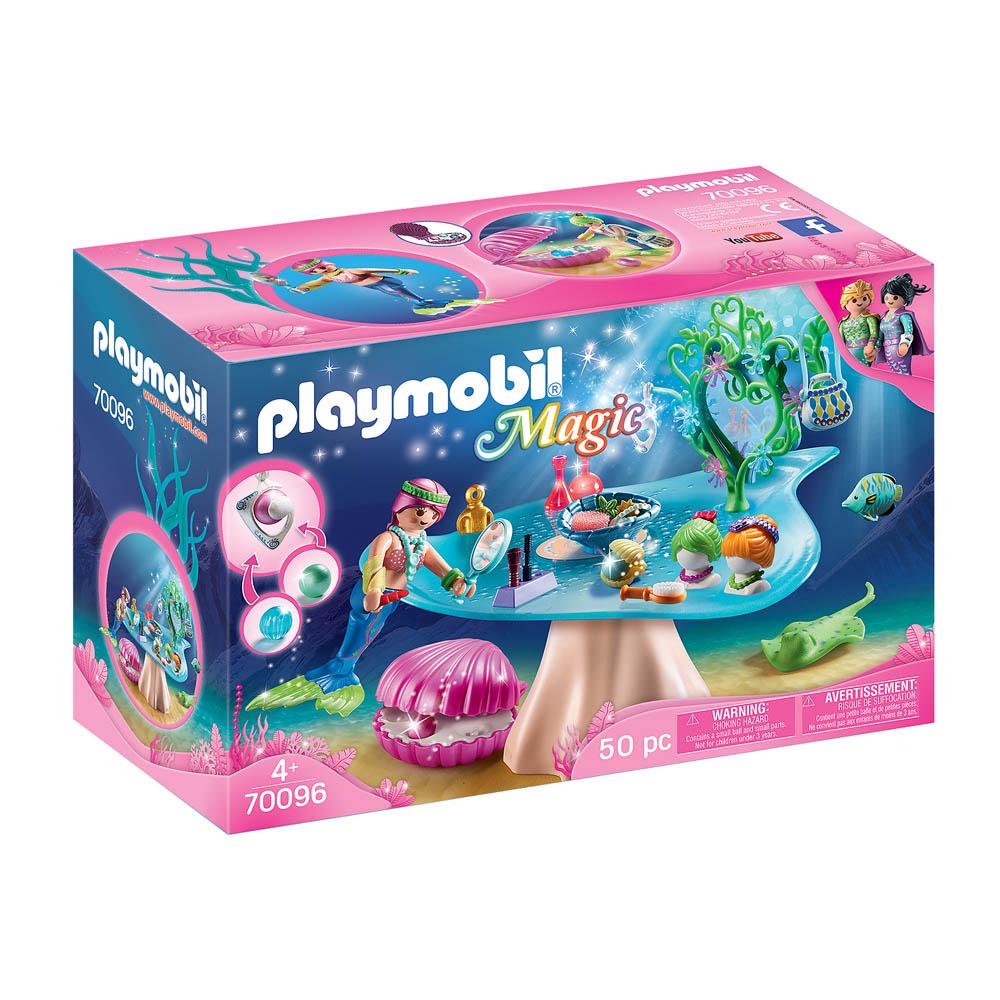 Playmobil - Salão De Beleza Com Concha E Pérolas