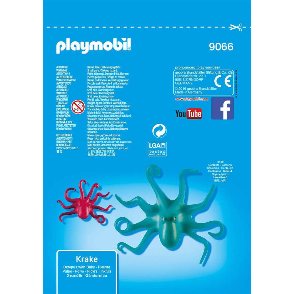 Playmobil - Saquinhos Com Animais - Polvo Com Filhote