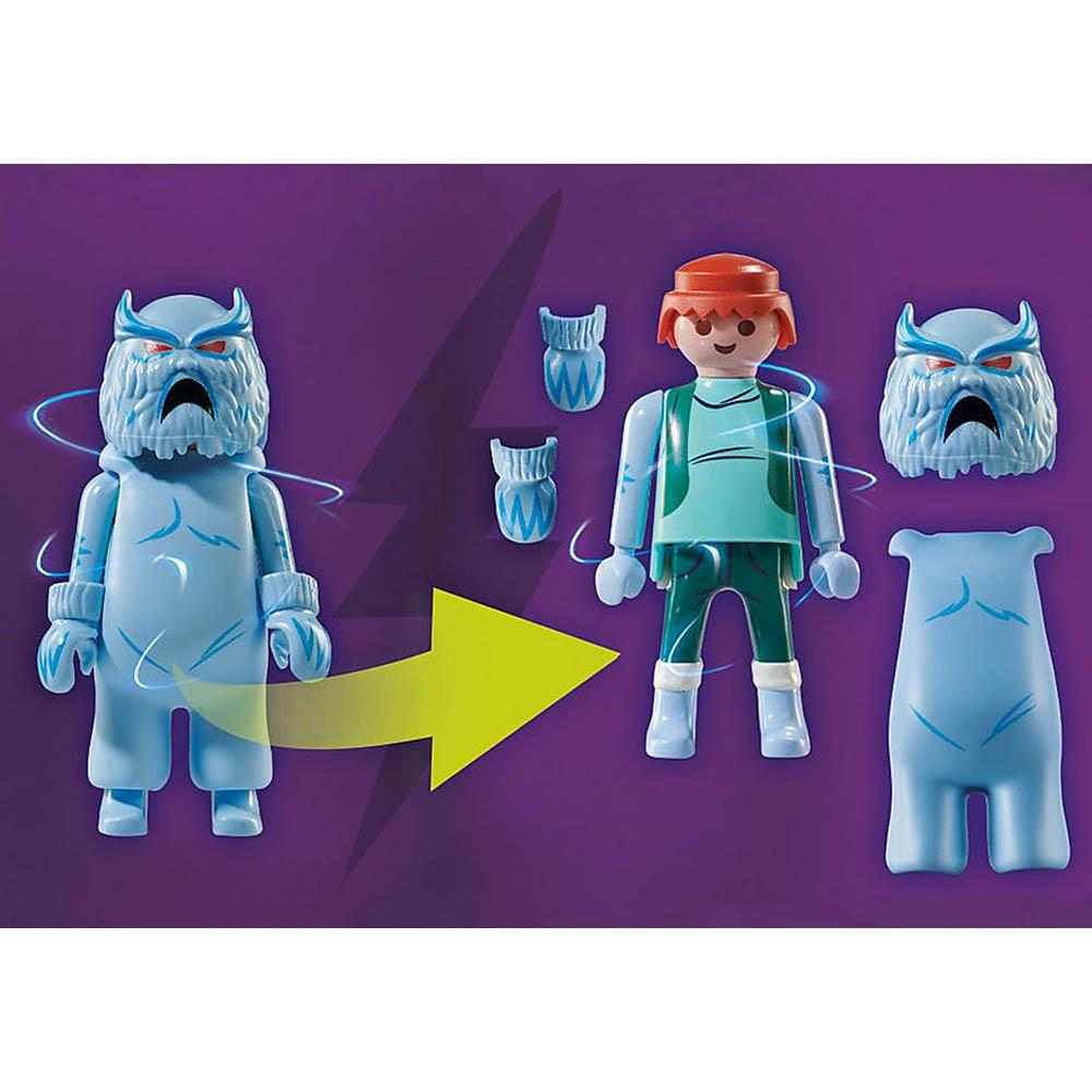 Playmobil - Scooby-Doo! Aventura Com O Fantasma Da Neve