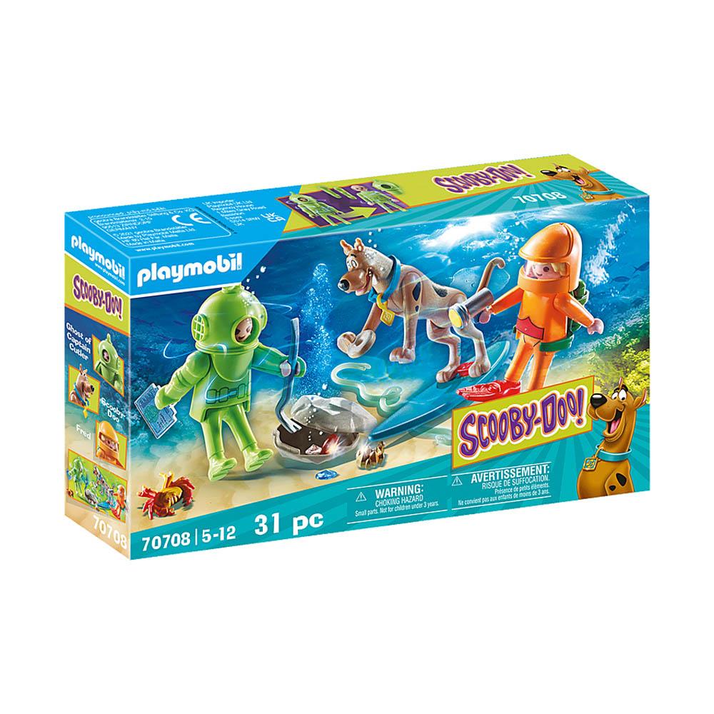 Playmobil - Scooby-Doo! Aventura com o Fantasma Mergulhador
