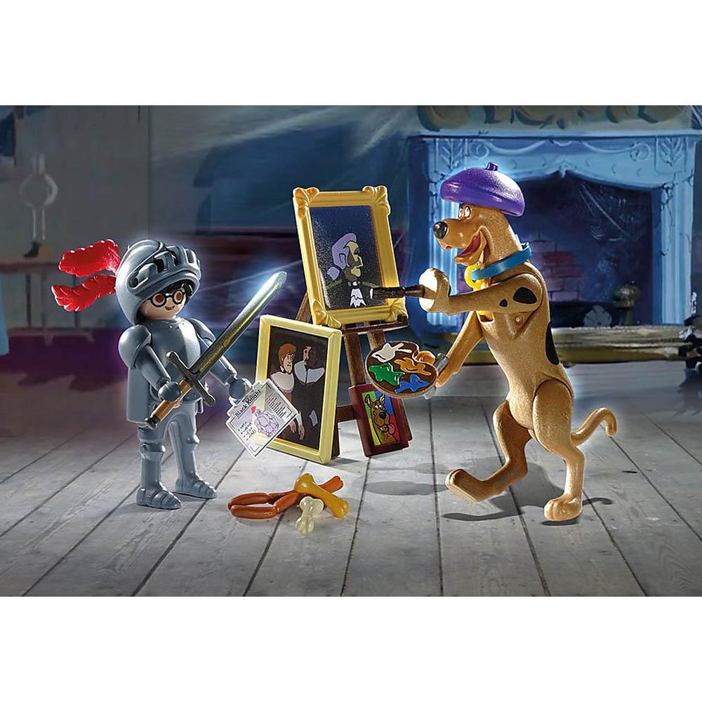 Playmobil - Scooby-Doo! Aventura com o Cavaleiro Negro