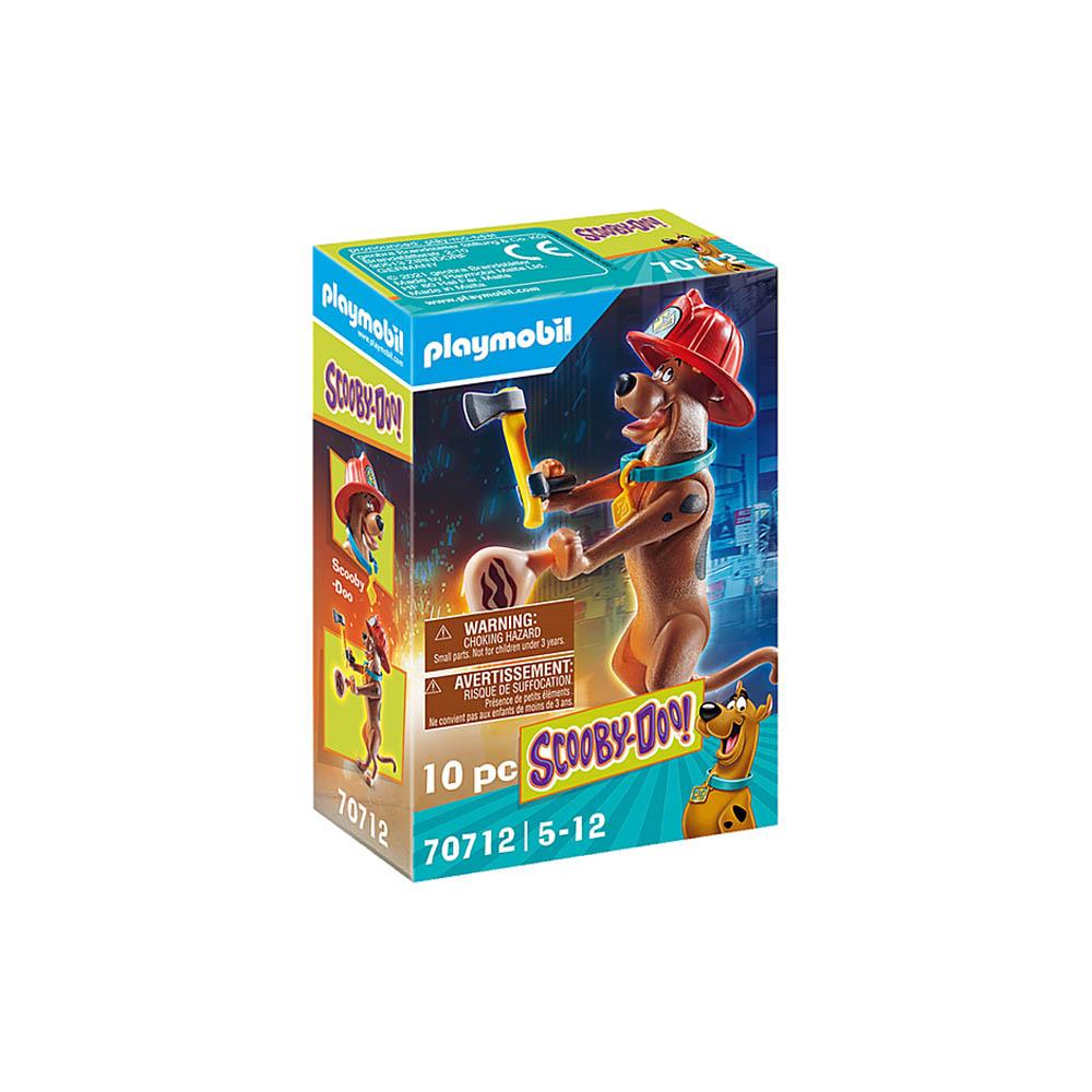 Playmobil - Scooby-Doo! Figura Colecionável Bombeiro