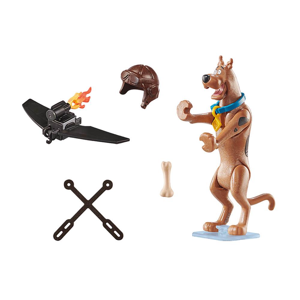 Playmobil - Scooby-Doo! Figura Colecionável Piloto