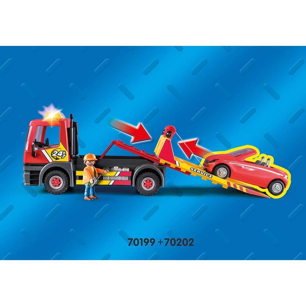 Playmobil - Serviço De Reboque
