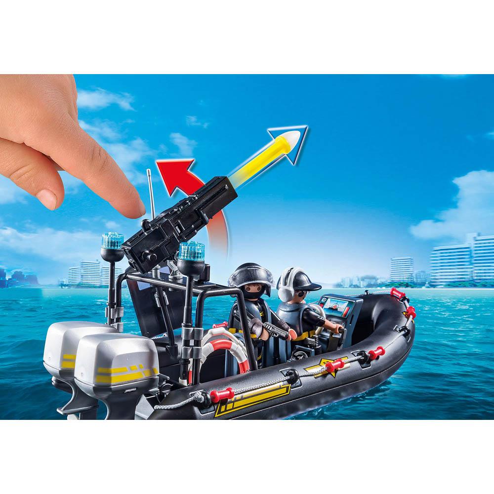 Playmobil - Unidade Tática com Bote