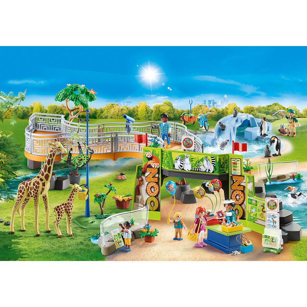 Playmobil - Zoológico Da Cidade