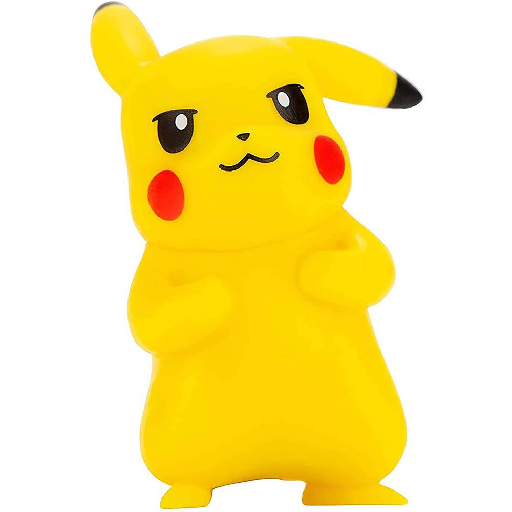 Pokémon - 3 Figuras De Ação - Lucario + Zorua + Pikachu