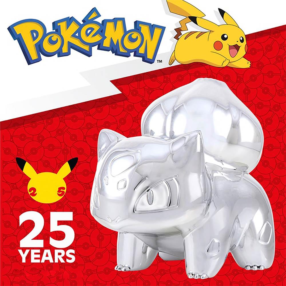 Pokemon - Celebrate Figuras de Batalha Prata - Bulbasauro