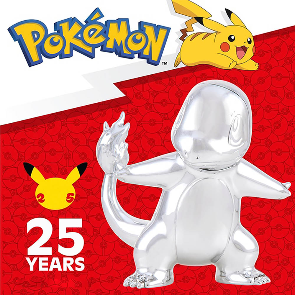 Pokemon - Celebrate Figuras de Batalha Prata - Charmander