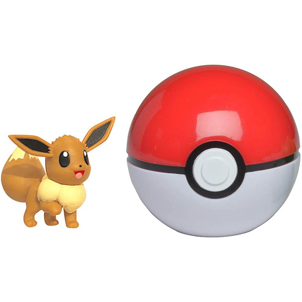 Pokémon - Clip De Pokébola - Eevee + Poké Ball