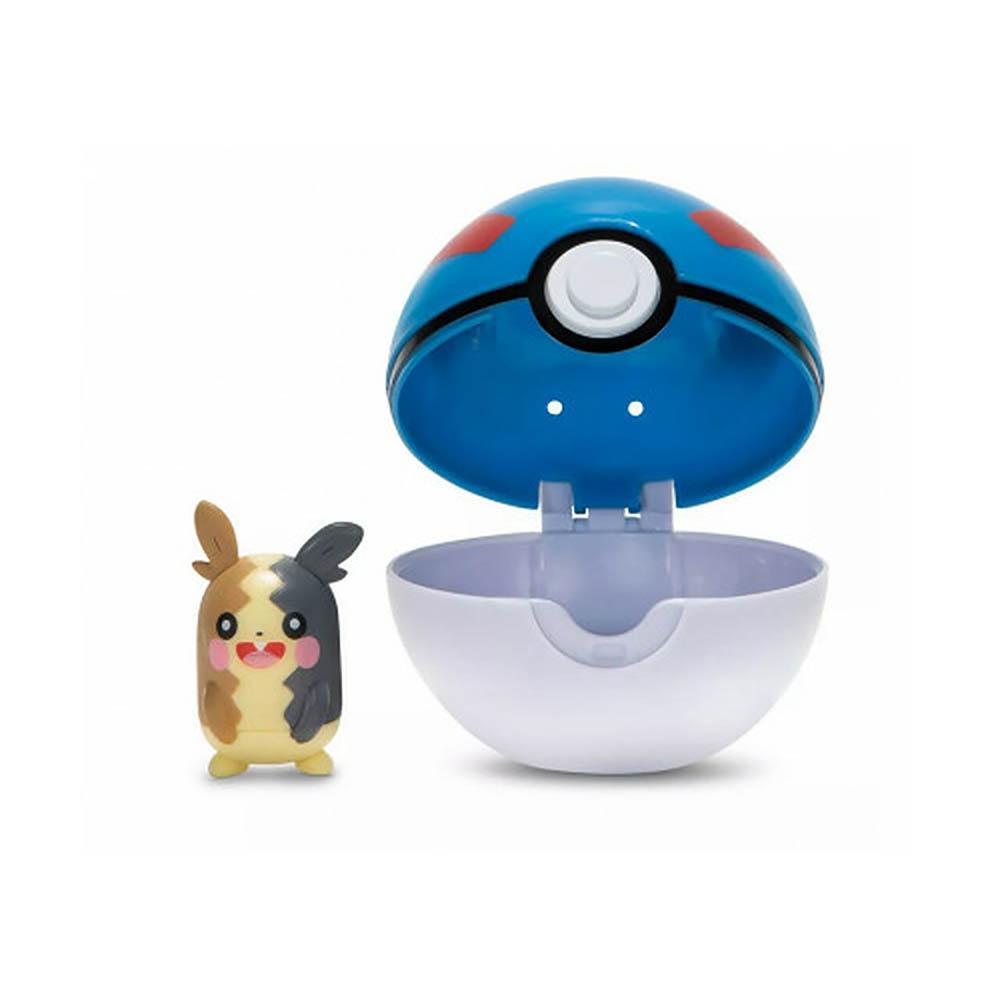 Pokémon - Clip De Pokébola - Morpeko + Great Ball