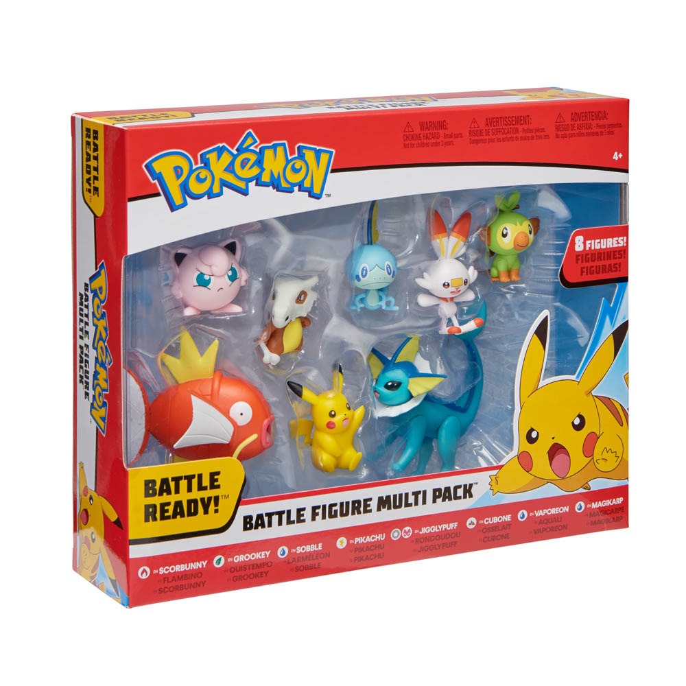 Pokémon - Figuras De Batalha