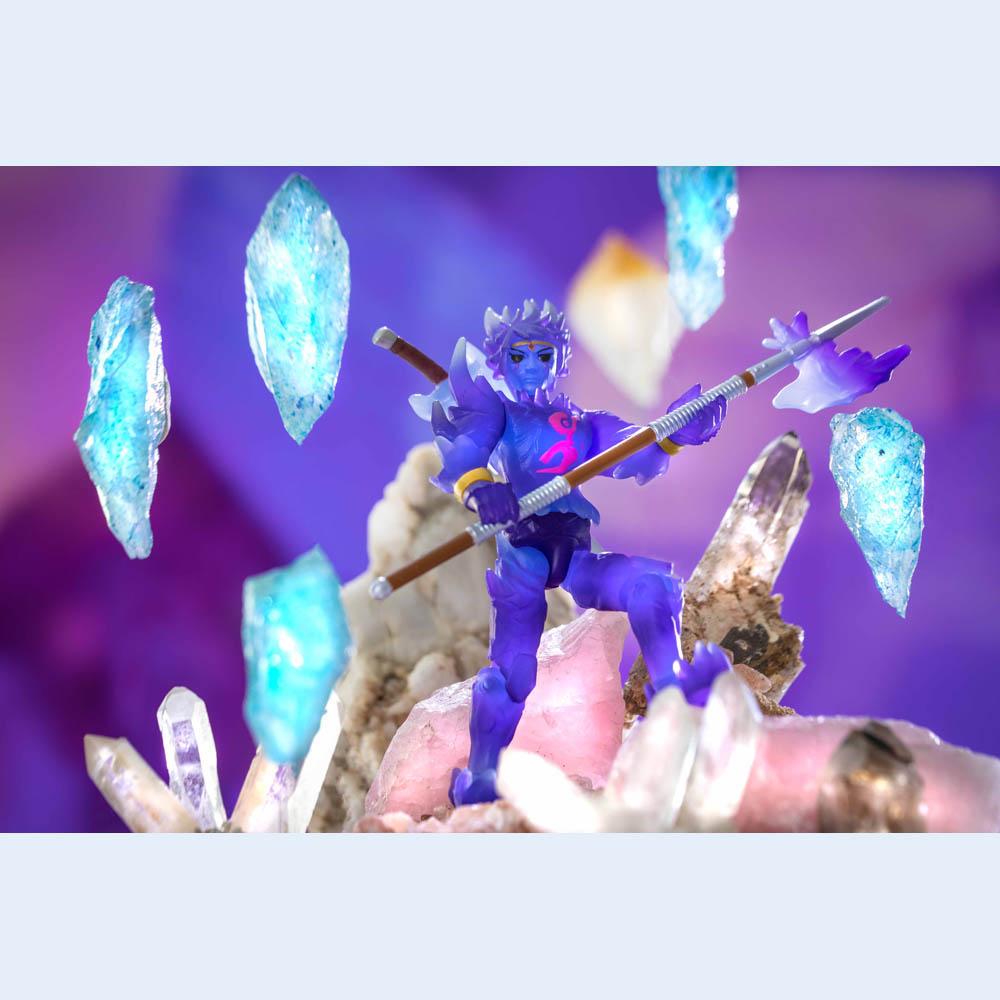 Roblox - Figura Articulada Com Acessórios - Crystello The Crystal God