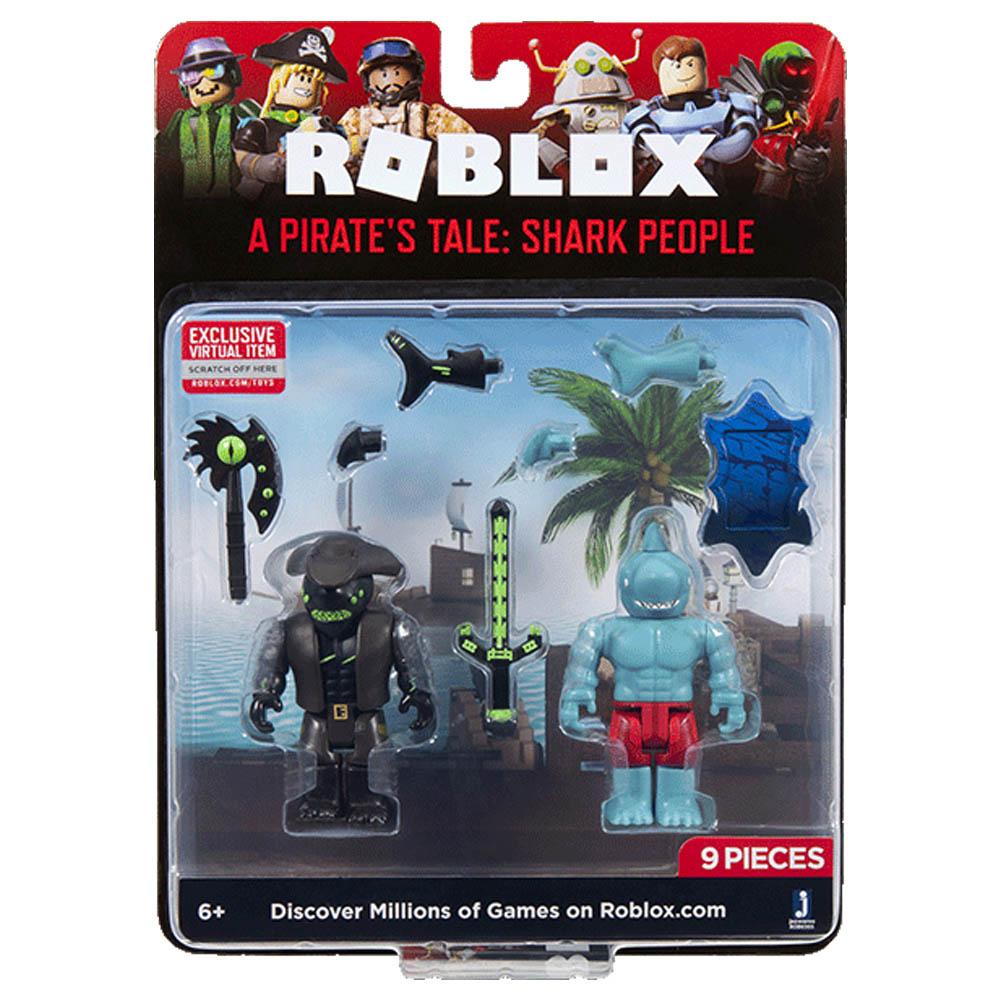 Roblox - Figura Pirata E Shark People