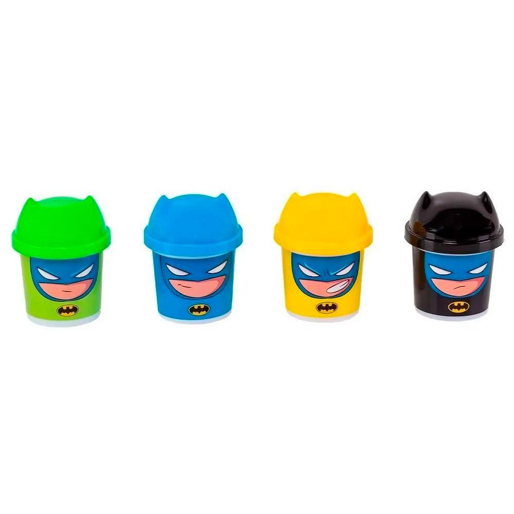 Super Friends - Massinha 4 Potes 80 G - Batman