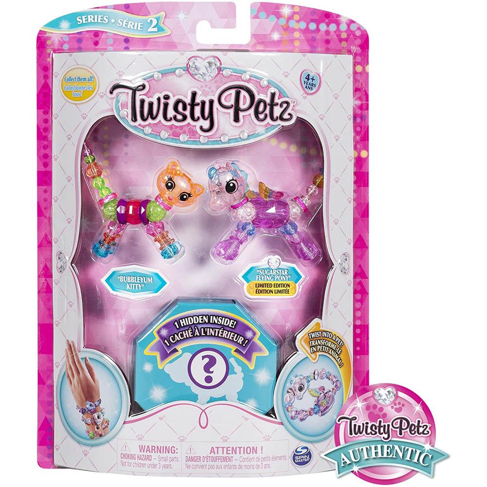Twisty Petz Surpresa-Bubbleyum Kitty E Sugarstar Flying Pony