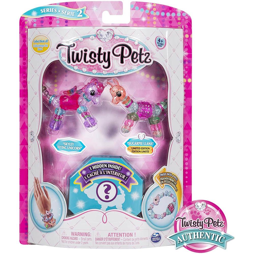 Twisty Petz Surpresa- Skyley Flying Unicorn E Sugarpie Llama
