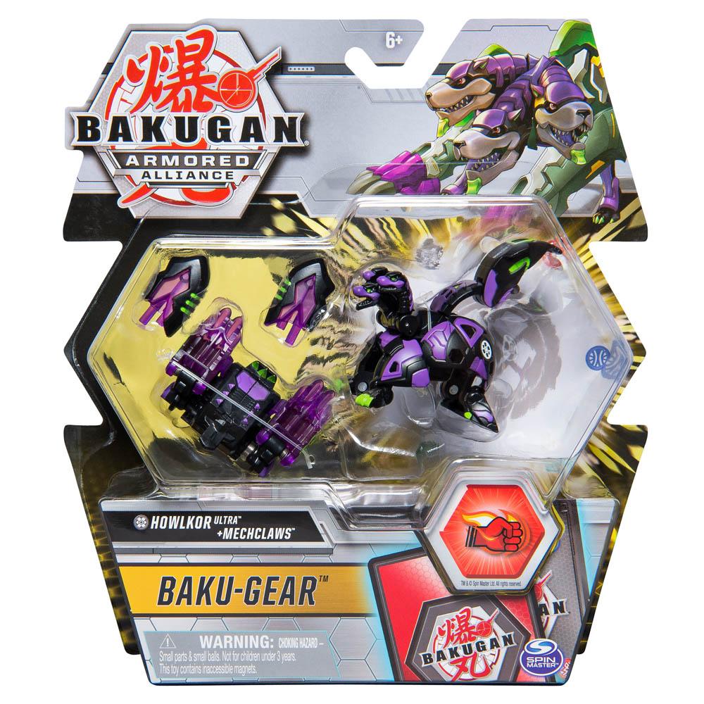 Bakugan - Ultra Bakugan Com Kit De Batalha - Howlkor