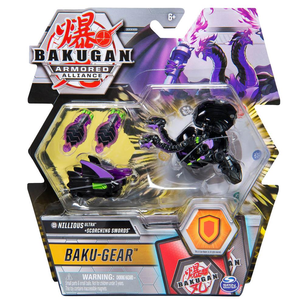 Bakugan - Ultra Bakugan Com Kit De Batalha - Nillious