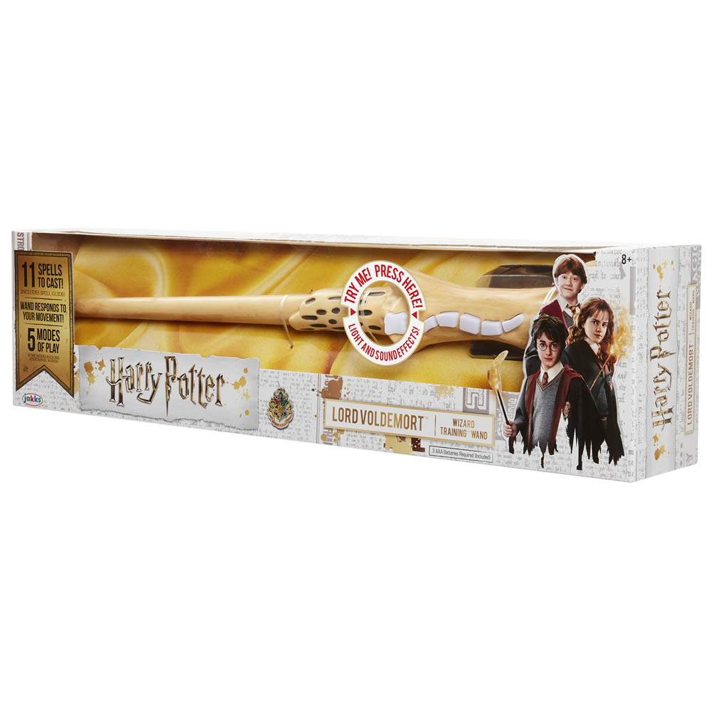 Harry Potter - Varinha Mágica Com Luz E Som - Lord Voldemort