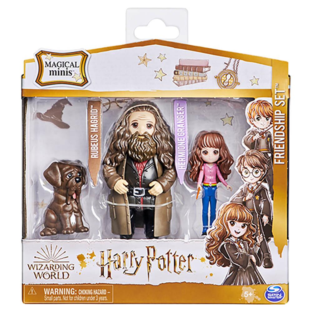 Harry Potter - PACK DA AMIZADE AMULETOS MAGICOS HERMIONE E HAGRID