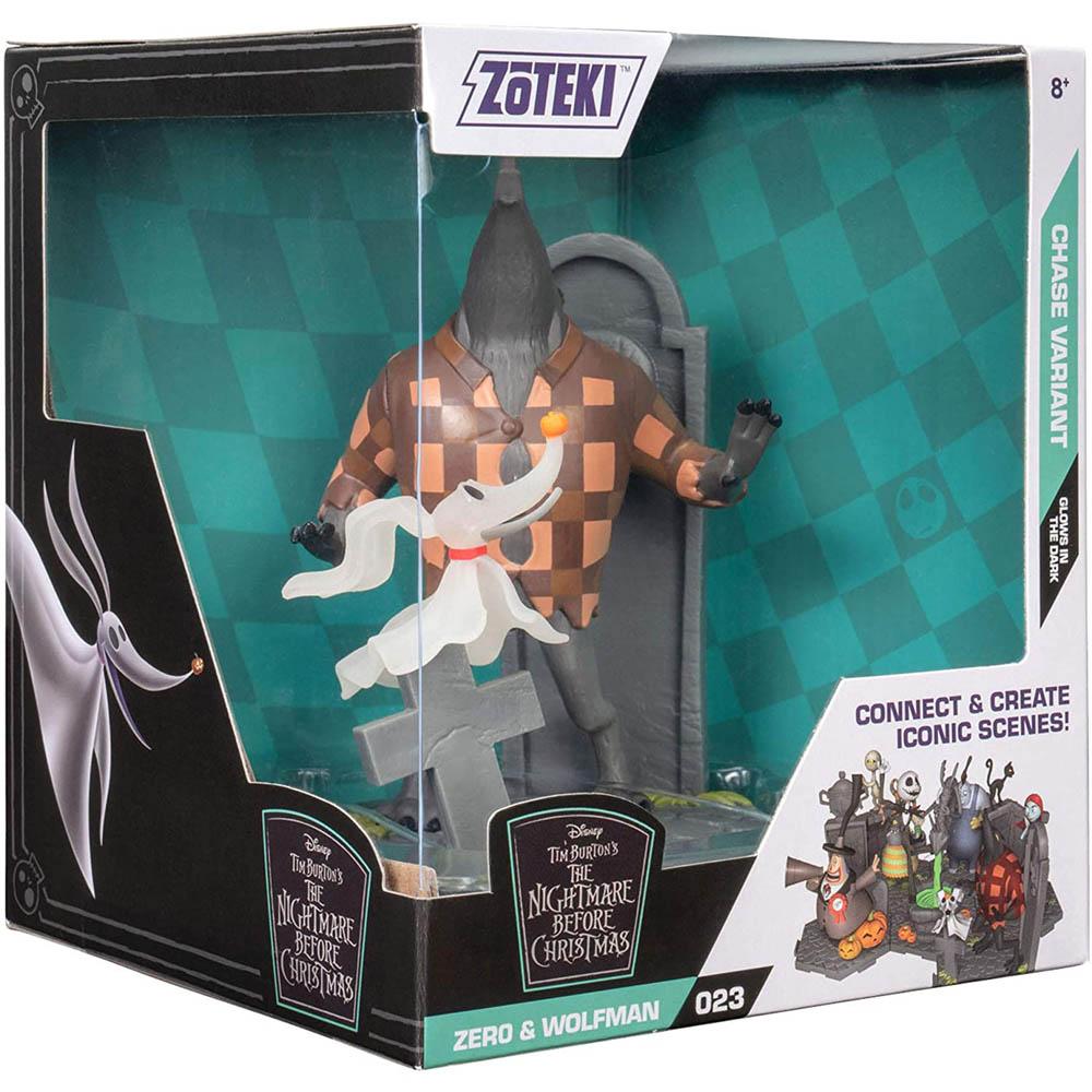 Zoteki - O Estranho Mundo De Jack - Zero E Wolfman 15 Cm