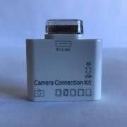 Adaptador Leitor 5em1 iPad iPhone Cartão D Memória Pen Drive