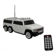 Caixa De Som Bluetooth Bak Bk-s251 Hummer Usb/tf/fm Branco