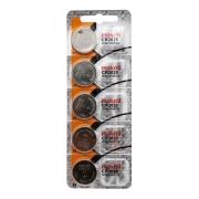 Cinco Baterias Pilha Maxell Cr 2025 Relógio Original