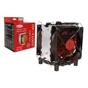Cooler Gamer Dex Universal Amd E Intel Dx-9100d Led Vermelho