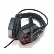Fone De Ouvido Gamer Usb/p2 Com Microfone E Leds Df-92 Dex