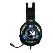 Fone Ouvido Headset Gamer Usb Pc 7.1 - Dex Df-95