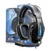 Headset Gamer Iluminado Surround 7.1 Usb Df-96 Fone Ouvido