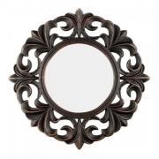 Kit 3 Espelhos Decorativos Retro Redondo Para Parede