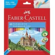 Lápis De Cor Faber Castell Ecolápis 48 Cores Ref: 120148
