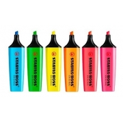 Marca Texto Boss Com 6 Cores Fluorescente 70/6 Stabilo