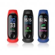 Relógio Bluetooth Inteligente Smartband M3 Monitor Cardiaco