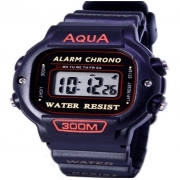 Relógio Esportivo Digital Prova D Àgua Aqua 300m