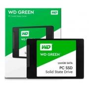 Ssd Wd Green, 120gb, Sata, Leitura 545mb/s, Gravação 430mb