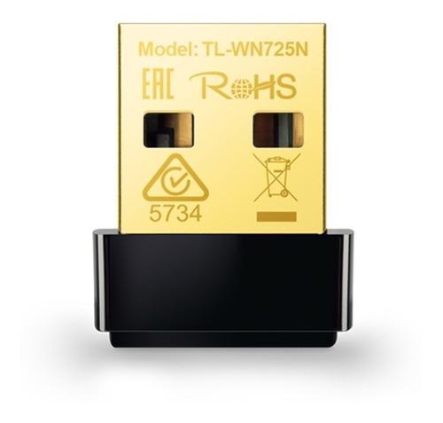 Adaptador Wireless Usb Nano N150mbps Tp-link Tl-wn725n