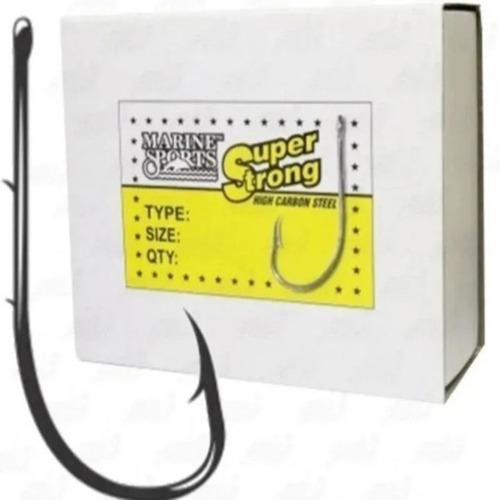 Anzol Super Strong 4330 - 1/0 Caixa Com 100 - Marine Sports