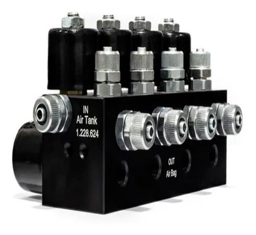 Bloco De Válvulas Hki V8 8 Mm Nac Para Suspensão A Ar