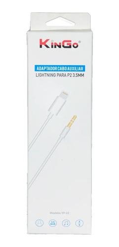 Cabo P2 Auxiliar Áudio Para iPhone Lightning