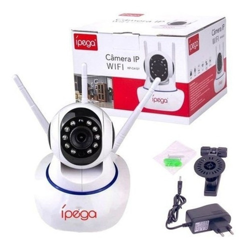 Câmera Ip Wi-fi 3 Antenas FullHD Ípega KP-CA127