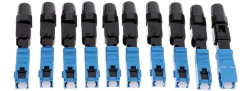 Conector Fibra Otica Ftth Sc Monomodo Upc - Kit Com 10