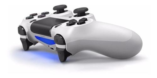 Controle Joystick Sem Fio Sony Dualshock 4 Glacier White