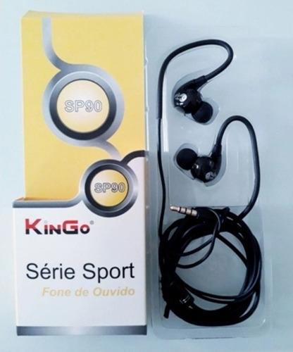 Fone De Ouvido Kingo Sport - Sp90 - Preto